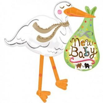 stork-new-baby-supershape-foil-balloon